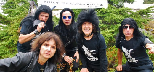 Black Sabbath Mountain Aid Station crew