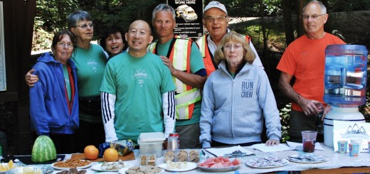 2013 Mount Seymour Aid Station Crew