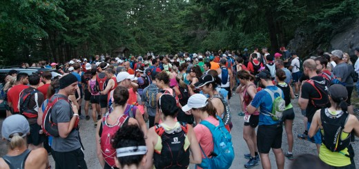 Knee Knacker 2014, minutes before the start.