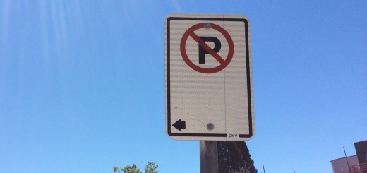 There are new parking restrictions in Deep Cove.