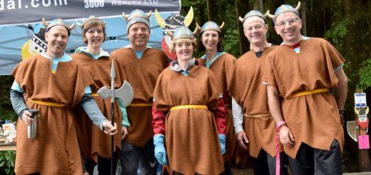 Hyannis Viking village crew.  Photo by Rosalind Duane.