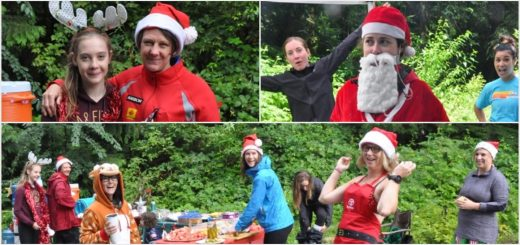 Christmas in July at LSCR Aid Station. Photos by Graham Johnson