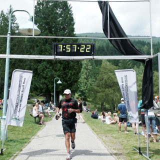 July 9, 2011- Brian's 13th, and final, Knee Knacker finish